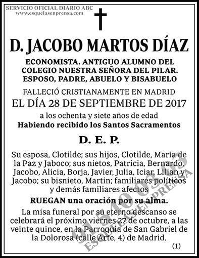Jacobo Martos Díaz